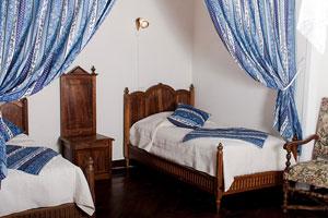 chambre d'hôtes ardèche - chambre bleue
